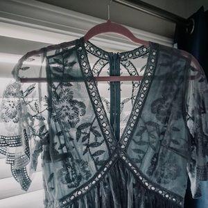 blue PinkBlush lace dress